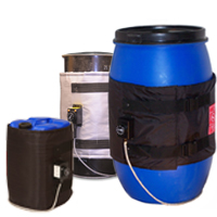 Flexible Heating Jackets for 25L, 50L and 100L drums