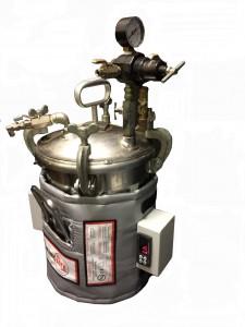 Pressure vessel Thermulate custom heating jacket
