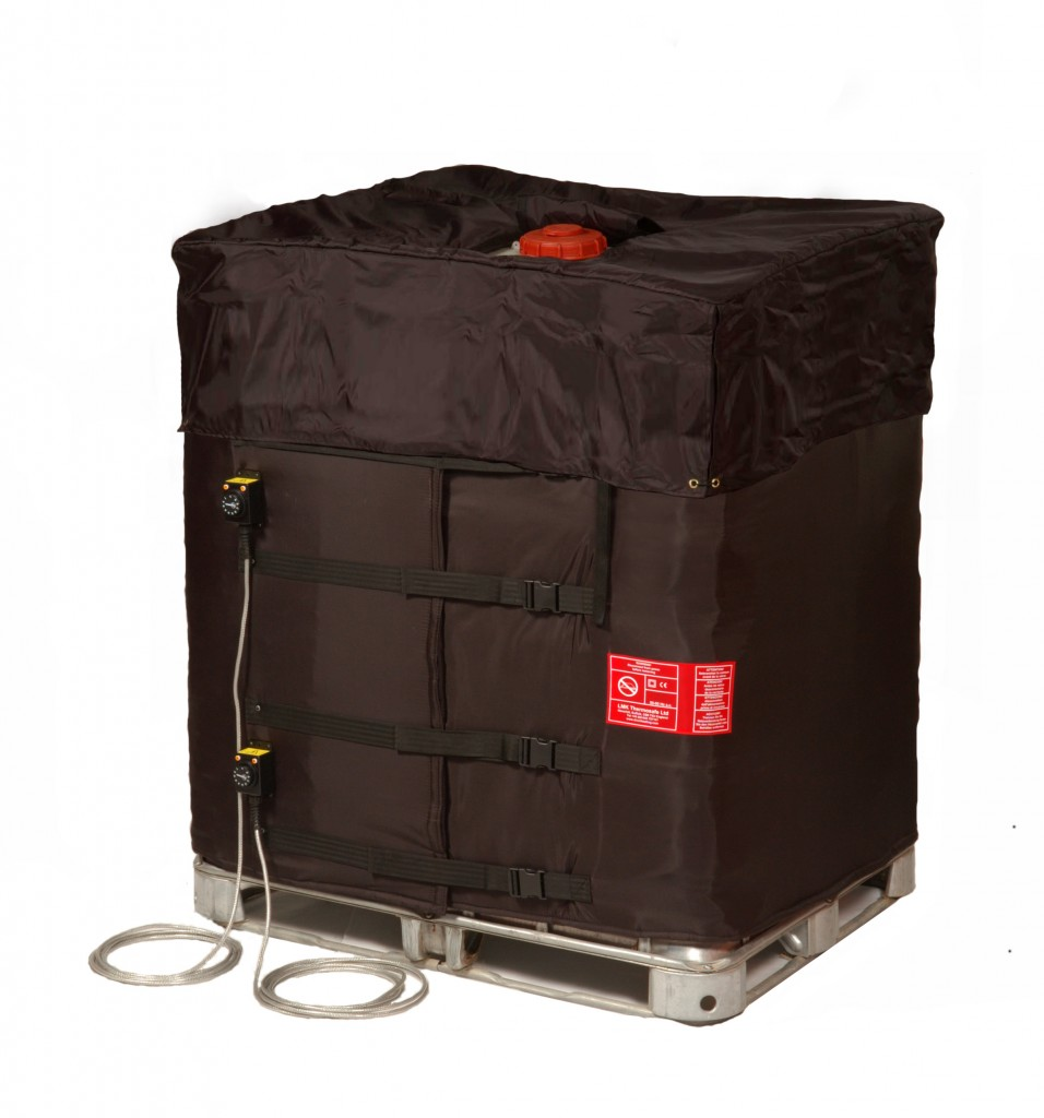 Example picture of IBC2 Heating Jacket with 330Gal tote